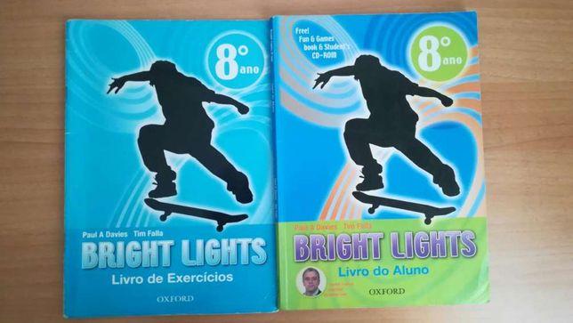 Manual escolar. Livro escolar do 8•ano.-Bright lights.
