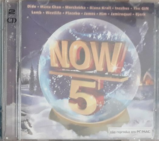 CD NOW 5 (James,Him,Placebo,Gift,Diana Krall,Lamb,Bjork,Incubus,etc)