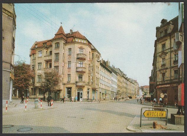 pocztówka - Zgorzelec 1978 - ulica Feliksa Dzierżyńskiego