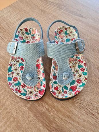 Sandałki dla dziewczynki Nowe !