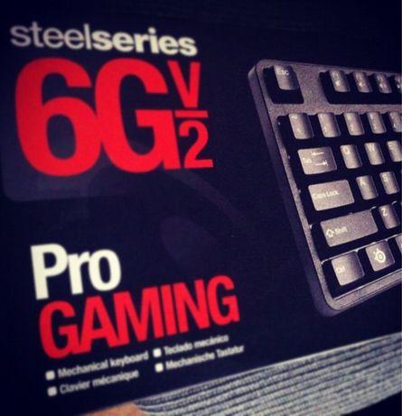 Teclado Gaming Steelseries 6GV2 usado mas em bom estado geral