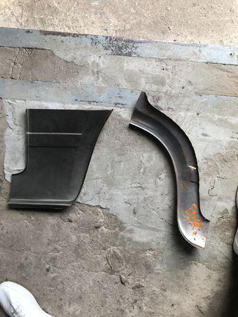 Сапоги передний, задний левые ваз 2105-2107