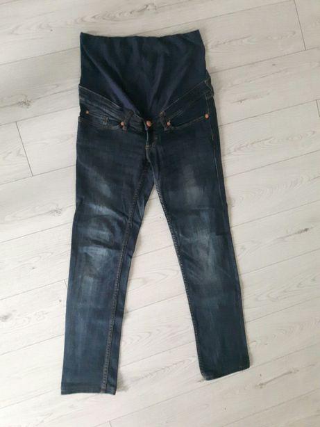 Spodnie ciążowe jeansowe H&M rozm. 38