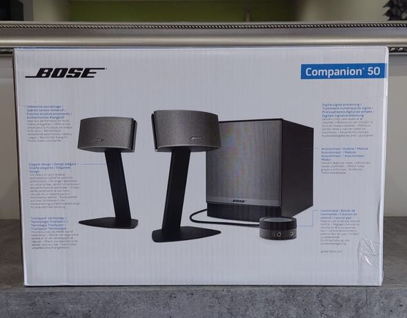 (Novo e Selado) Sistema de Som Bose Companion 50
