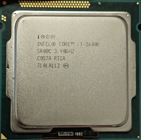 Процессор I7 2600K 3.4GHz 8Mb Intel Core 1155 SR00C | Гарантия 1 Год
