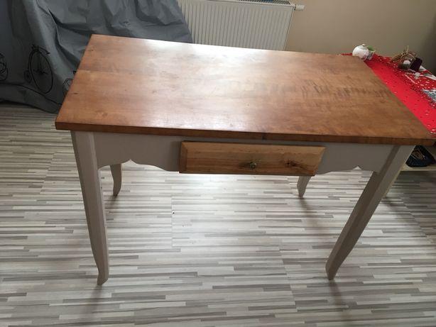 Stół z drewna brzozowego