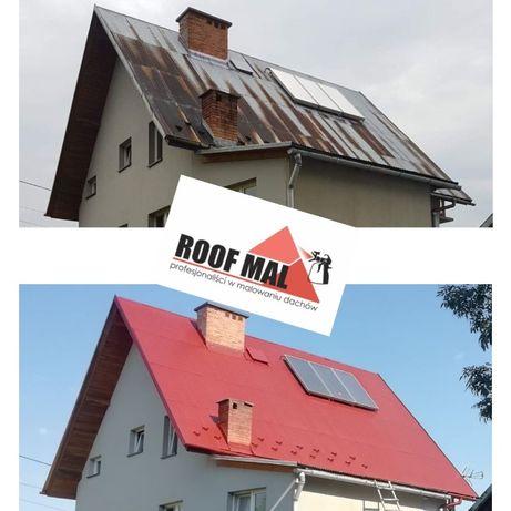 Malowanie dachów Mycie Impregnacja dachu Dachów dachówki gontu kostki