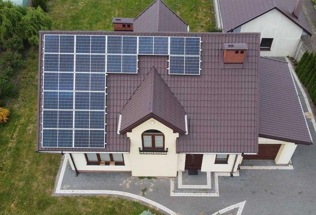 Fotowoltaika, Instalacja fotowoltaiczna 5kWp Panele słoneczne