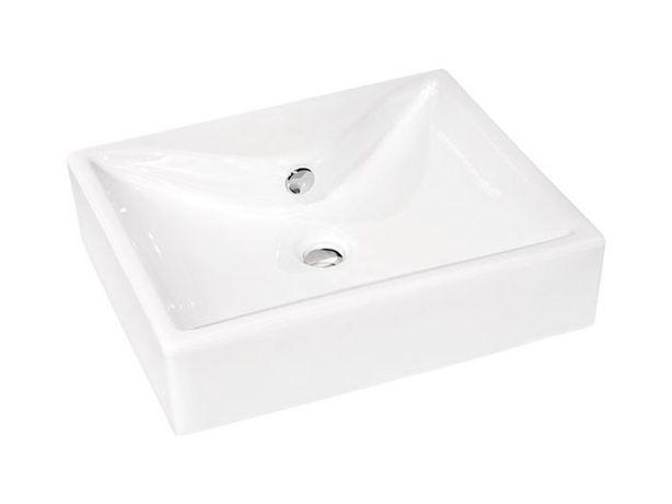Umywalka nablatowa FORM LIOMO 51 X 40 X 12 CM