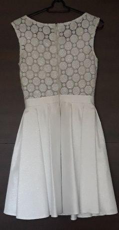 Suknia na ślub z butami
