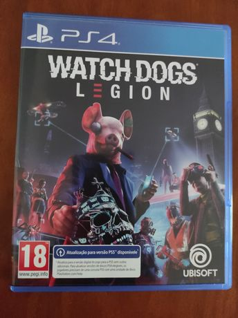 Jogos PS4 Watch Dogs Legion