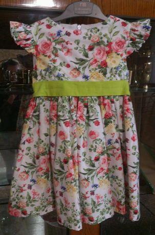 Детское платье, на 3-4 года