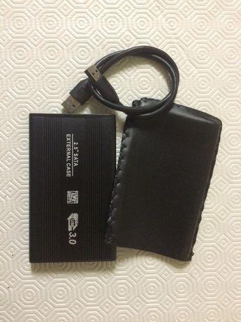 """Disco Externo 2.5"""" de  1 TB USB 3.0 testado com HD Sentinel"""
