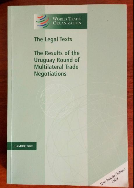 тексты договоров WTO, на англ.