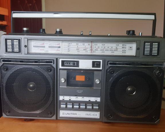 REZERWACJA Radiomagnetofon Unitra RMS 404 PRL Tanio