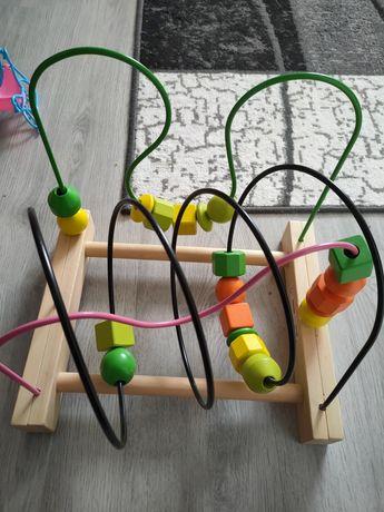 Zabawka edukacyjna, drewniana MULA