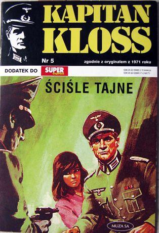 Kapitan Kloss Nr 5 Sciśle tajne K-1