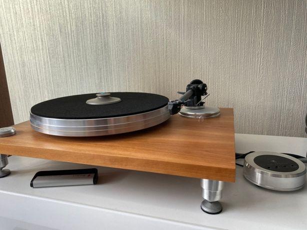 Проигрователь винила Acoustic Solid 111 wood + игла Goldring Elite