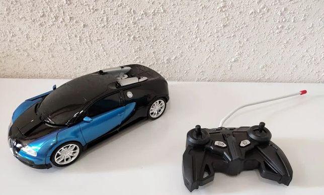 Трансформер р/у - машинка / Bugatti Veyron / Бугатти автобот / робот