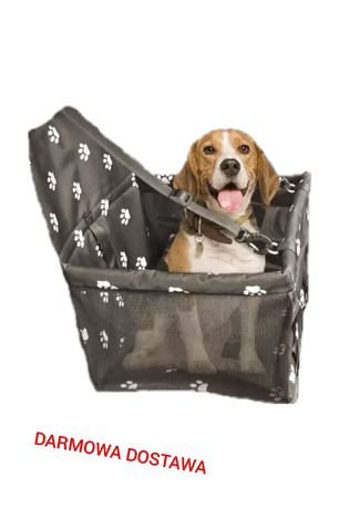 Mata fotelik transporter  wodoodporny samochodowy dla psa