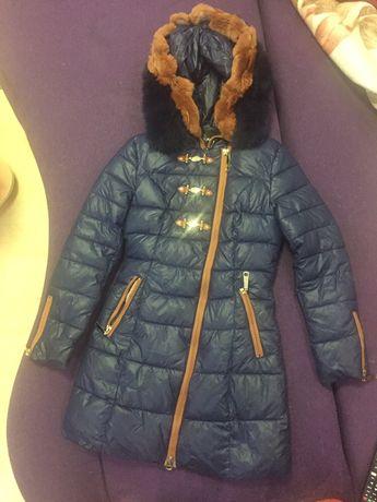 Курточка зимняя для девочки-подростка р-р 42
