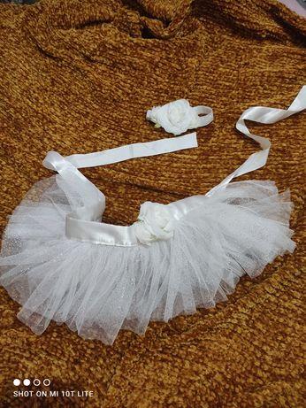 Tiulowa sukieneczka