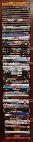 83 DvDs-34 DVDs (NOVOS/EMBALADOS)+49 DVDs(como novos)