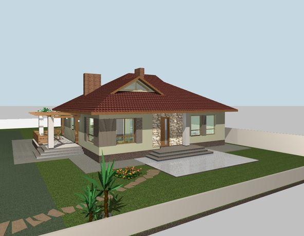 Рабочий проект дома(копия) 145 кв.м.