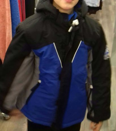 Sprzepraszam kurtkę zimowo na chłopca na 134 140