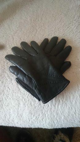 Skórzane damskie rękawiczki