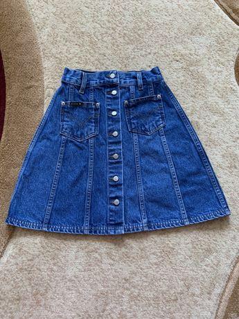 Новая джинсовая юбка на подростка