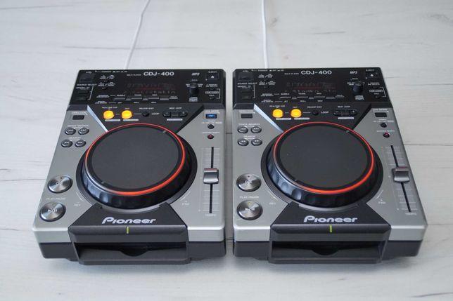 2 x Pioneer CDJ 400 Gwarancja Skup Zamiana DJM 250/300/350/500/600/700