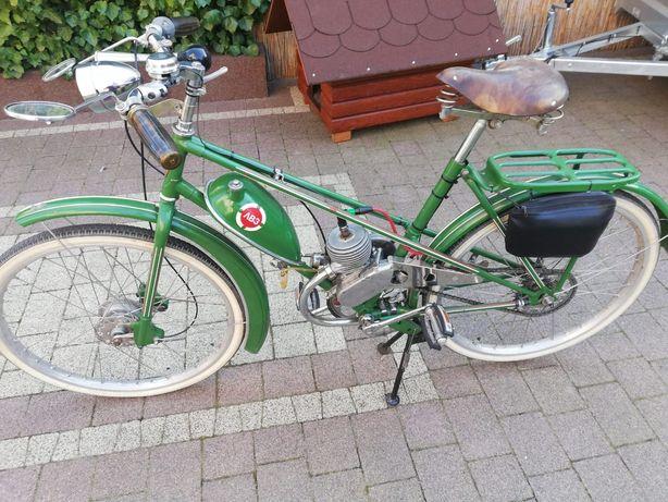 Rower LWZ z silnikiem spalinowym doczepnym