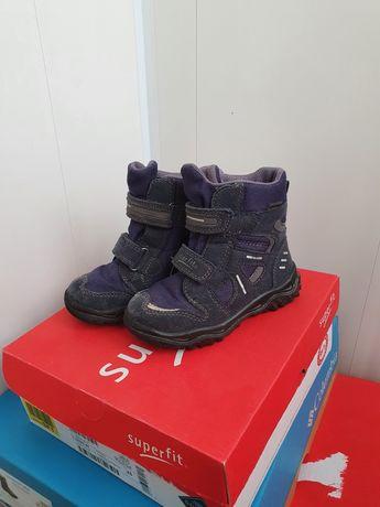 Зимние ботинки Superfit 25р. 16 см