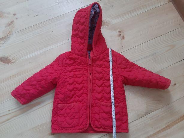 Демисезонная красная курточка 9-12 месяцев, 10 кг, 76 см на девочку