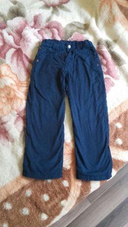 Spodnie ocieplane polarem,spodnie zimowe,spodnie na polarze rozm 122