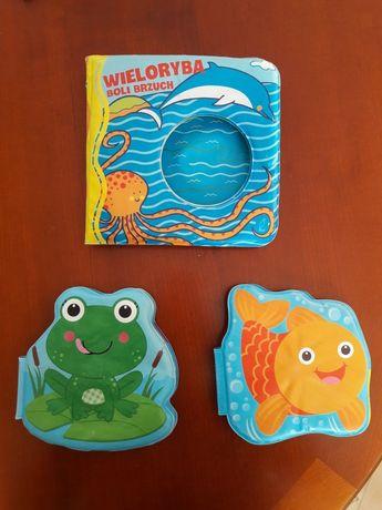 Książeczki do kąpieli piszczące 3 sztuki