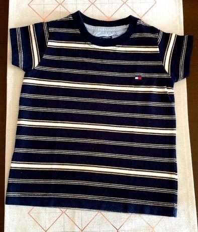 Bluzeczka koszulka Tommy Hilfiger dla maluszka dziecka 3-6 miesiecy