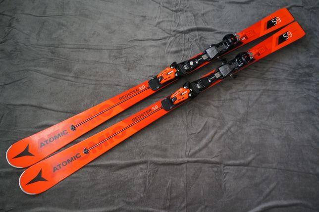 Atomic Redster S9 171 cm r13m 2018r SL ST SC narty slalomka
