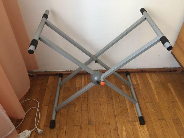 Profesjonalny Statyw na instrumenty klawiszowe- heavy duty stand 100kg
