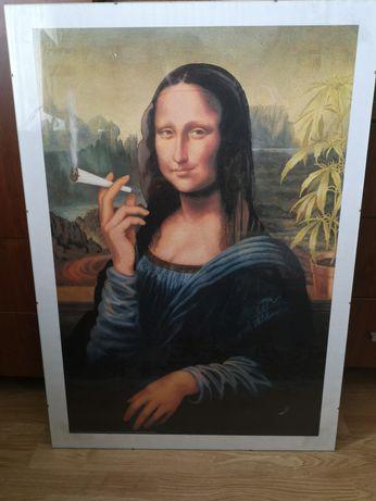 Plakat obraz Mona Lisa Joint + szklana antyrama