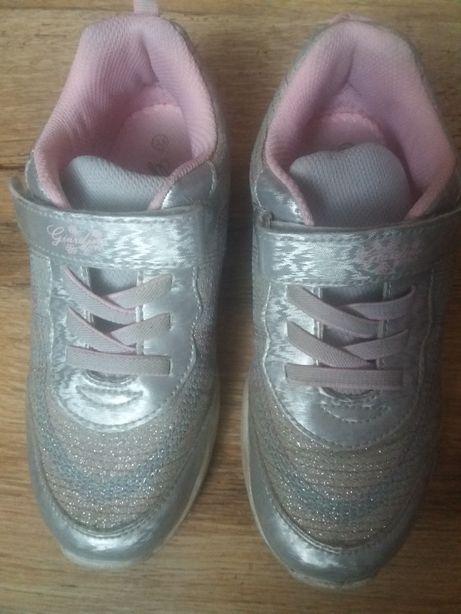 Обувь, красовки, кросівки світяться, взуття для дівчинки, р.33, (21-22