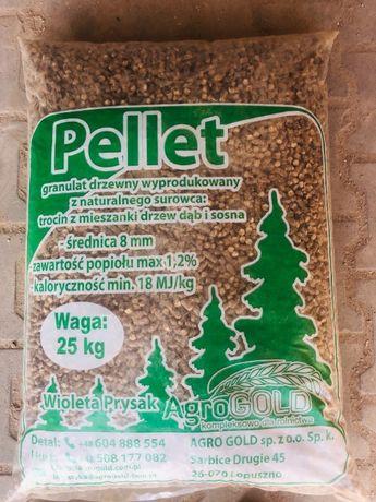 Pelet Pellet drzewny 8 mm wysokokaloryczny !!!