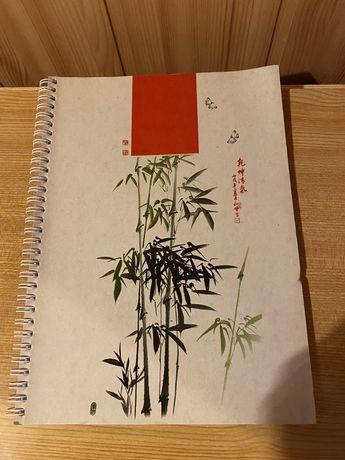 Тетрадь А4 клетка 75 листов блок бумаги