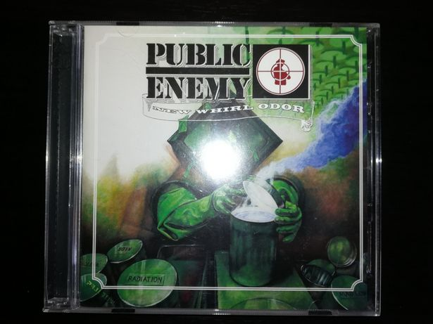 "CD+DVD ""New Whirl Odor"" de Public Enemy de 2005 (Como Novo)"