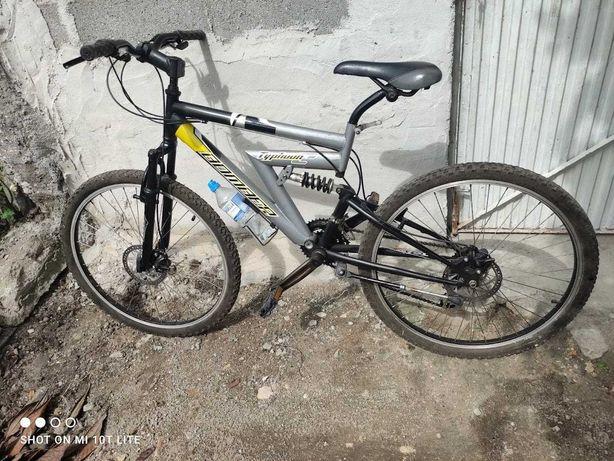 bicicleta rodas 26 travão de discos