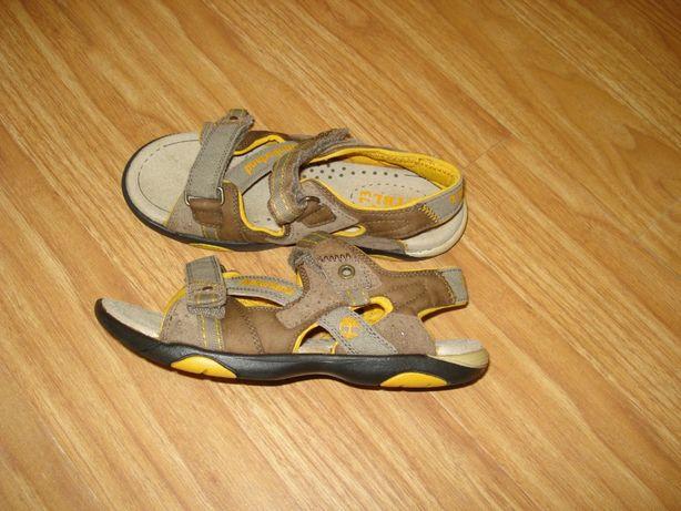 Сандали босоножки кожаные Timberland обувь для мальчиков