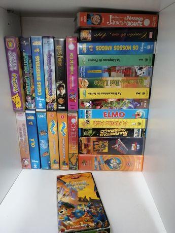 *** VENDO Cassetes VHS diversas ***