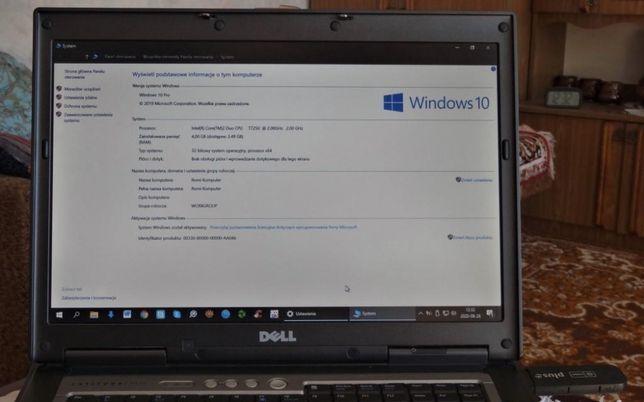 laptop DELL D830-części- na doskonałym procesorze Intel Core T7250