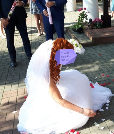 Suknia ślubna Sophia tolli Y11552